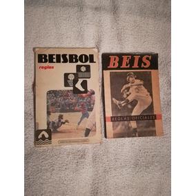 Libro Reglas De Béisbol Oficiales.