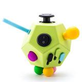 Fidget Cube Juguete 12 Caras Estrés Ansiedad Niños Adultos