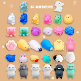 Squishy Mochi Animals Anti Stress Toys