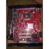 T. Madre Pcchips P49g (v1.0), Chipset Intel G41