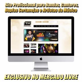 Site Profissional Para Bandas, Duplas, Cantores E Artistas