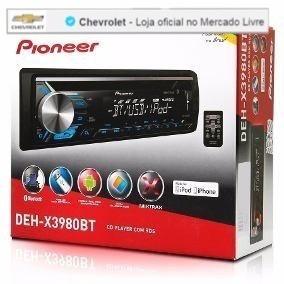 Cd Player Pioneer Deh-x3980bt Cod. 98550979 Pioneer Bluetoot