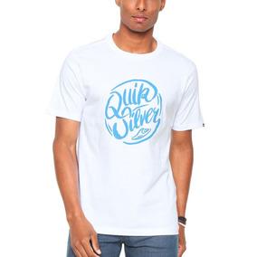 3202a3cd8c3b9 Camiseta Quiksilver Original Branca - Calçados, Roupas e Bolsas no ...