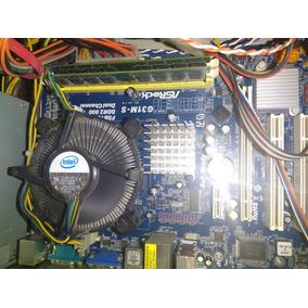 Cpu Intel Dualcore E5500 4gb Ram Ddr2 320gb Disco Dvdrw Case
