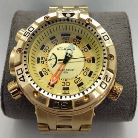 2a3d92c7791 Relógio Atlantis 3400 - Relógios De Pulso no Mercado Livre Brasil