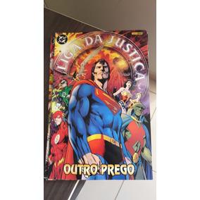 Liga Da Justiça O Outro Prego Alan Davis Completo 3 Volumes