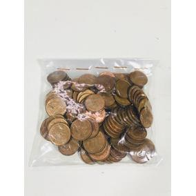 Moeda De 1 Centavo Bronze-níquel Pacote Com 100 Moedas
