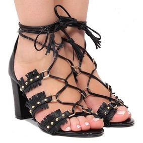 Sandália Zariff Shoes Amarração   Zariff