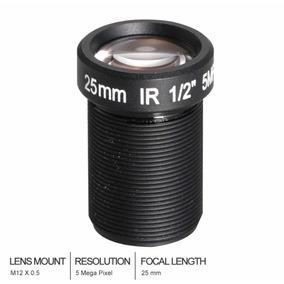 Lente M12 25mm 1/2 Para Ip Câmera De Segurança De Visão