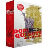 Dom Quixote De La Mancha Box 2 Livros Capa Dura Frete Grátis