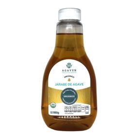 Endulzante De Agave Orgánico Natural 660 Gr