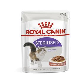 Ração Úmida Royal Canin Sachê Sterilised Gatos Adultos 85g -