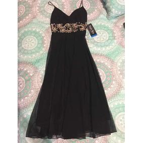 Vestido Negro Night Way Talla 4