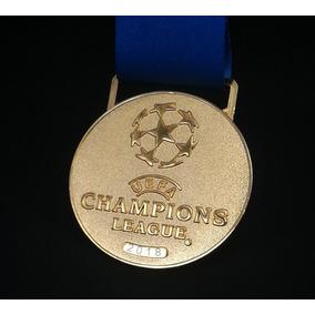 Medalha Ouro Futebol Da Uefa Europa Champions League 2018