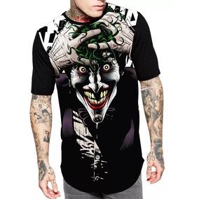Camisa Do Coringa - Camisetas Manga Curta Masculino no Mercado Livre ... c6c842a019b
