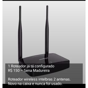 Roteador Wireless Intelbras 2 Antenas