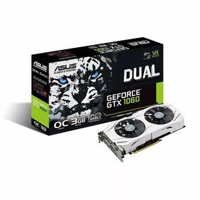 Placa Geforce Nvidia Gtx 1060 3gb Ddr5 Asus Dual Oc Tienda