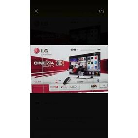 Tv Lg Smart Tv, 3d Led 49