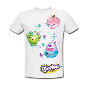 Playera Shopkins 09- Compra Dos Y Envío Gratis