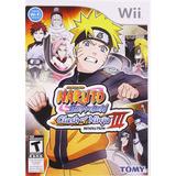 Naruto Shippuden: Clash Of Ninja Revolution Iii Wii Nuevo