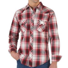 aade53e09 Camisa Wrangler Masculina Original - Calçados