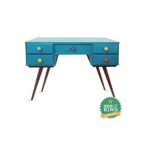 Aparador Azul,aparador Vintage, Escrivaninha Azul