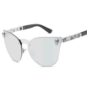 83f8c76139df7 Oculos Sol Feminino Roxo Com Prata Importado Uv 400 Stily De ...