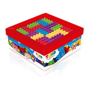Blocos De Montar Tand Kids - Super Caixa 120 Peças