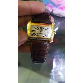 Reloj De Oro Cartier