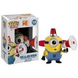 Funko Pop Disney Fire Alarm Minions Figura De Vinil Original