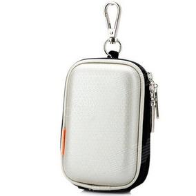 Capa Câmera Digital Bag Sony Samsung Nikon Canon - Prata