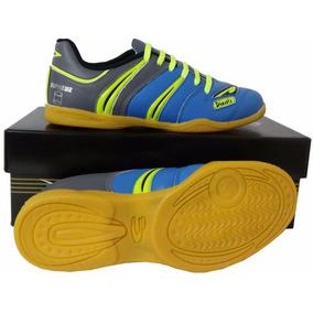Tênis Futsal Solado Borracha - Couro Legítimo - Frete Gratis. R  149 90 e17bd00939edf