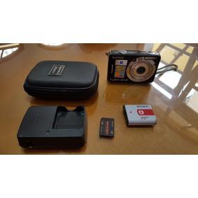 Câmera Digital Sony Cyber Shot 7.2 Mp Dsc-w55