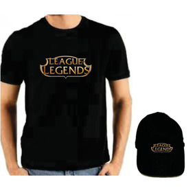 16ad52440f1 Camiseta League Of Legends Com Bone. R  64 99