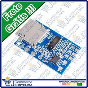Módulo Decodif. Mp3 Gpd2846a Cartão Sd Arduino-frete Grátis!