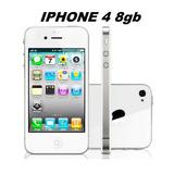 iPhone 4 8gb Branco Com Jailbreak E Whatsapp Funcionando