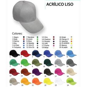 Gorra Acriico Lisa Moderna Moda Colores