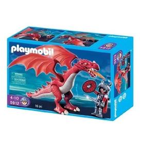 Playmobil Dragão Vermelho 16 Peças Sem Juros