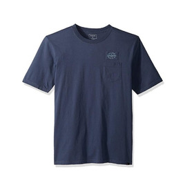 Playera Quiksilver Hunters Patch Color Indigo Talla S Origin