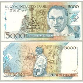 Nota Dinheiro Antigo 02 Cédulas Cruzados Fe - Barato