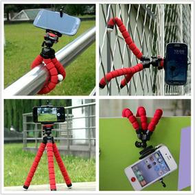 Mini Tripé Flexível P/ Celulares E Câmeras.