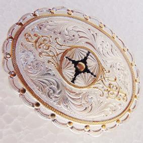 Fivela Montana Silversmiths Prateada Montaria Peão Boiadeiro 73a4324648