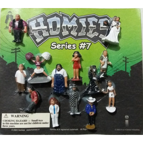 Homies 1/32 Serie #7 Paquetes Individuales