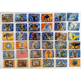 Elma Chips Tazos Escolha 5 Stamps Montáveis X-men Lacrados