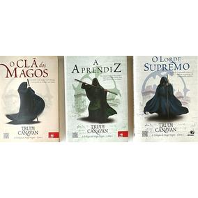 Livro Mago Negro Contém Os Três Livros Da Trilogia Semi Novo
