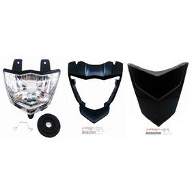 Kit Bloco Óptico+carcaça Interna+capa Painel Xtz150 Crosser