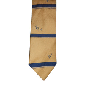 Chaps Ralph Lauren Corbata Amarilla Diseño De Golf Seda