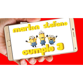 9f52a5bf9f913 Invitaciones Cumpleaños Minions - Souvenirs para tu casamiento ...