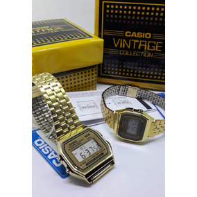 b383c90e90ef Reloj Casio Dorado A159w - Joyas y Relojes en Mercado Libre México