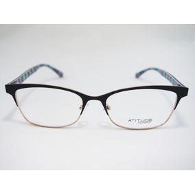 Armação Para Óculos Atitude Feminino At1628 Original Nfe · 2 cores. R  170 869b74fa28